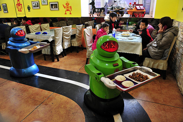 Restaurant with Robots