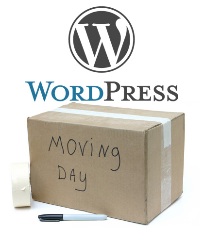 Wordpress moving to new domain