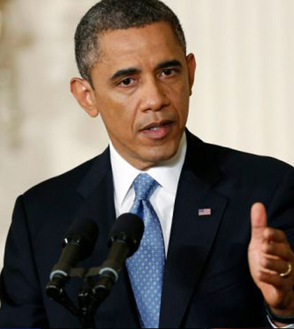 "Barack Obama Promises to Act ""Vigorously"" in Debate on Assault Weapons Ban"