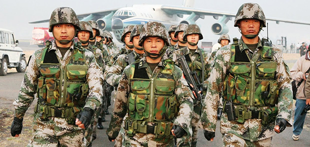China is one of five countries that export more weapons in the world