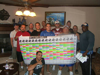 5 Tips for Hosting a Fantasy Football Draft