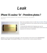 Will the iPhone 5S will come in gold color?